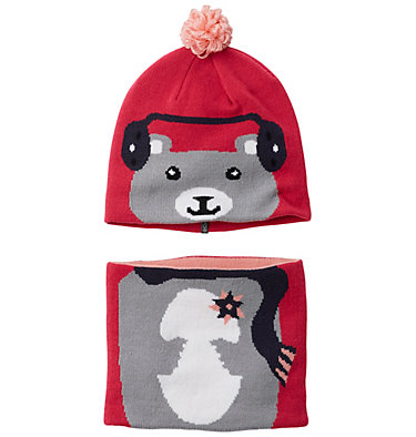 Toddlers' Snow More™ Beanie and Gaiter Set  , front