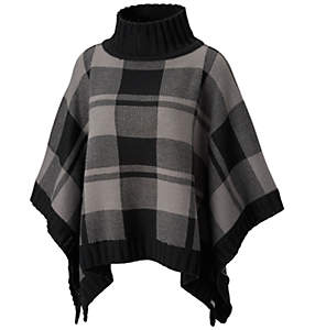Women's Be Cozy™ Sweater Poncho - Plus Size