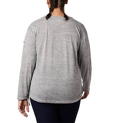 Women's Kickin It™ Solid Pullover - Plus Size Kickin It™ Solid Pullover | 544 | 1X, Black, back