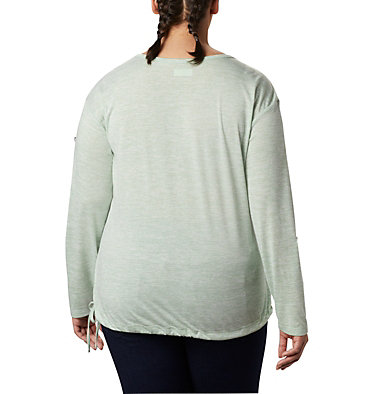 Women's Kickin It™ Solid Pullover - Plus Size Kickin It™ Solid Pullover | 544 | 1X, New Mint, back