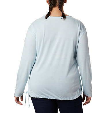 Women's Kickin It™ Solid Pullover - Plus Size Kickin It™ Solid Pullover | 544 | 1X, Spring Blue, back
