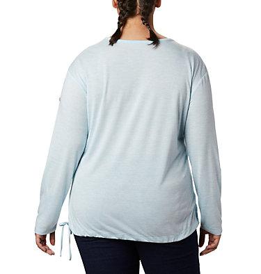 Women's Kickin It™ Solid Pullover - Plus Size Kickin It™ Solid Pullover | 544 | 1X, Spring Blue, back