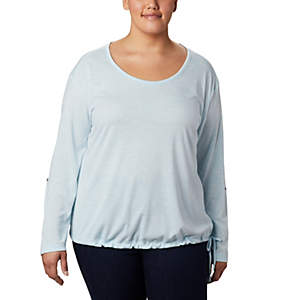 Women's Kickin It™ Solid Pullover - Plus Size
