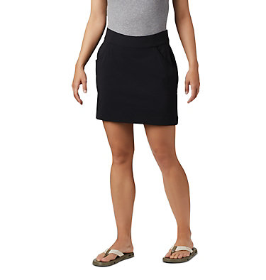 Women's Anytime Casual™ Stretch Skort Anytime Casual™ Strt Skort | 464 | L, Black, front