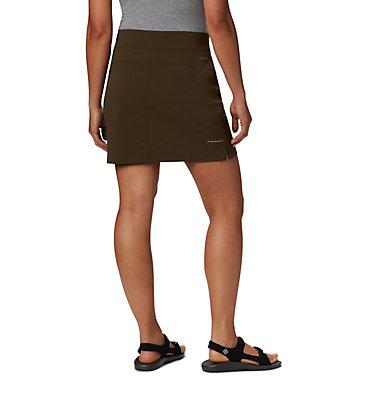 Women's Anytime Casual™ Stretch Skort Anytime Casual™ Strt Skort | 464 | L, Olive Green, back