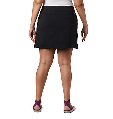 Women's Anytime Casual™ Stretch Skort - Plus Size Anytime Casual™ Strt Skort | 464 | 1X, Black, back