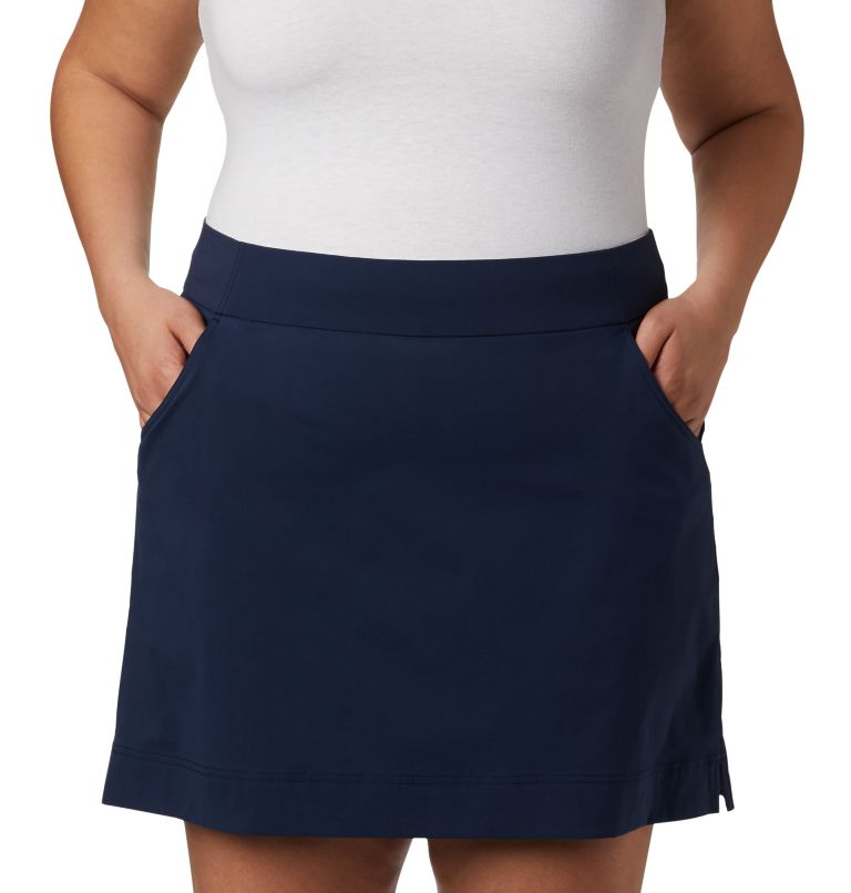 Women's Anytime Casual™ Stretch Skort - Plus Size Women's Anytime Casual™ Stretch Skort - Plus Size, a1