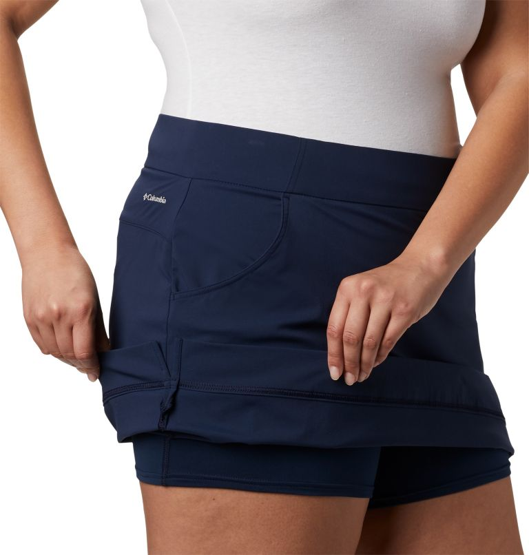 Women's Anytime Casual™ Stretch Skort - Plus Size Women's Anytime Casual™ Stretch Skort - Plus Size, a3
