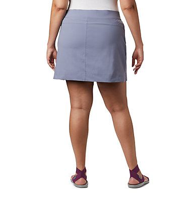 Women's Anytime Casual™ Stretch Skort - Plus Size Anytime Casual™ Strt Skort | 464 | 1X, New Moon, back