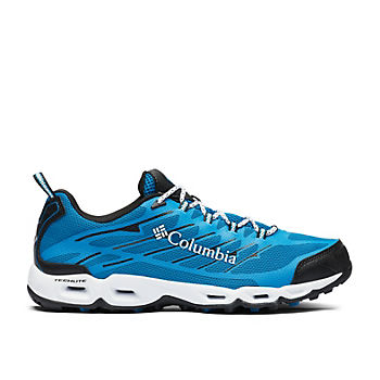 Columbia Cypresswood Men's Trail Shoes (Compass Blue, White)