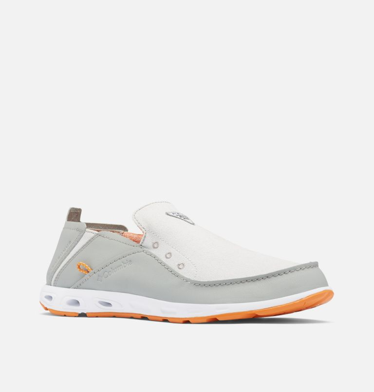 BAHAMA™ VENT PFG WIDE | 063 | 7 Men's Bahama™ Vent PFG Shoe - Wide, Grey Ice, Light Orange, 3/4 front