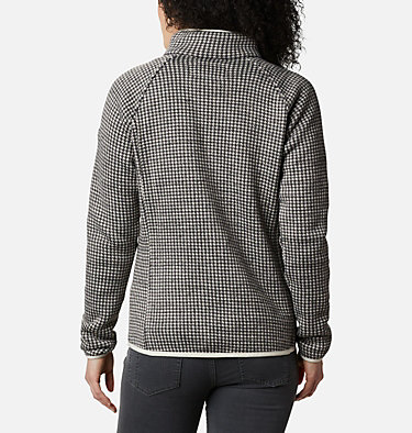 Women's Chillin™ Fleece Chillin™ Fleece Non Hooded | 466 | XS, Chalk Small Houndstooth, back