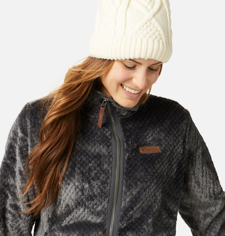 Fire Side™ II Sherpa FZ | 011 | S Women's Fire Side™ II Sherpa Full Zip Fleece, Shark, a2