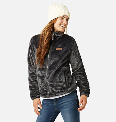 Women's Fire Side™ II Sherpa Full Zip Fleece Fire Side™ II Sherpa FZ | 671 | L, Shark, front
