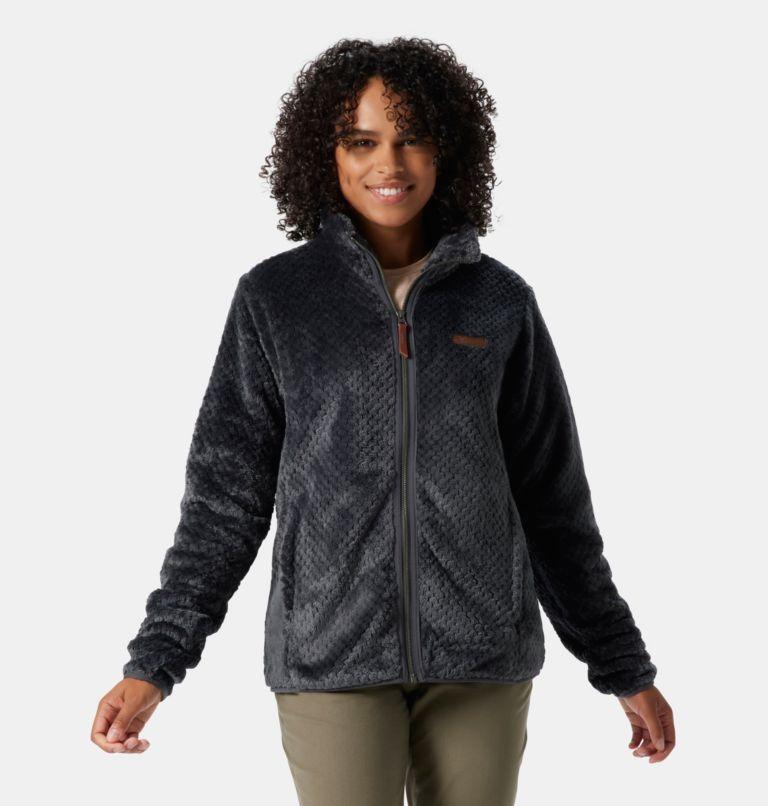 Fire Side™ II Sherpa FZ | 011 | XXL Women's Fire Side™ II Sherpa Full Zip Fleece, Shark, front