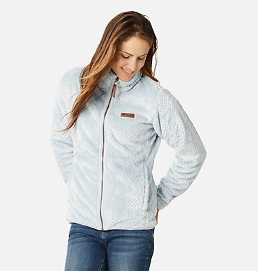 Women's Fire Side™ II Sherpa Full Zip Fleece Fire Side™ II Sherpa FZ | 671 | L, Cirrus Grey, front