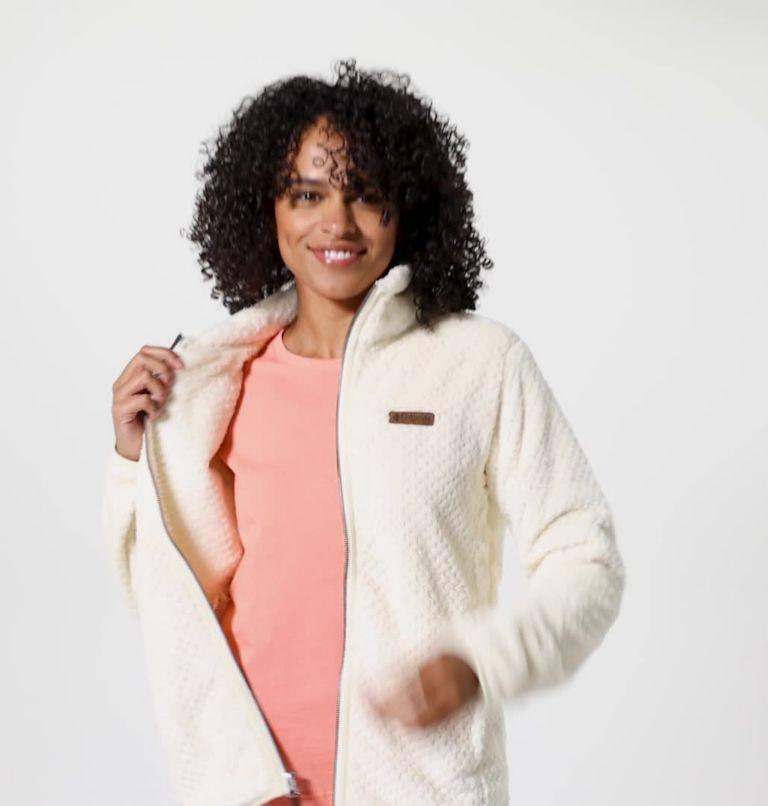 Fire Side™ II Sherpa FZ | 191 | S Women's Fire Side™ II Sherpa Full Zip Fleece, Chalk, video