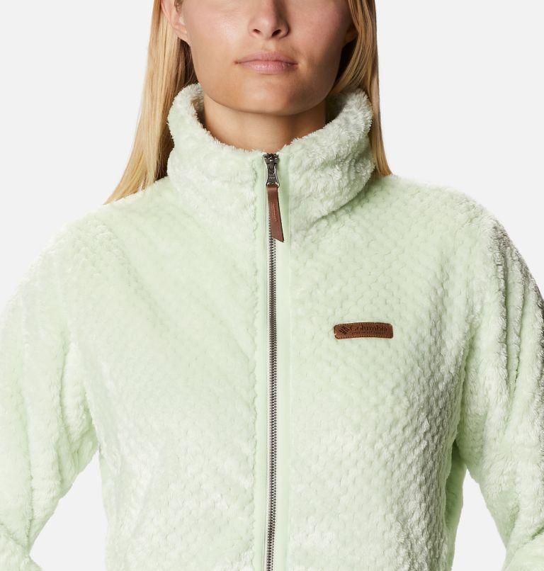 Fire Side™ II Sherpa FZ | 313 | XS Women's Fire Side™ II Sherpa Full Zip Fleece, Light Lime, a2