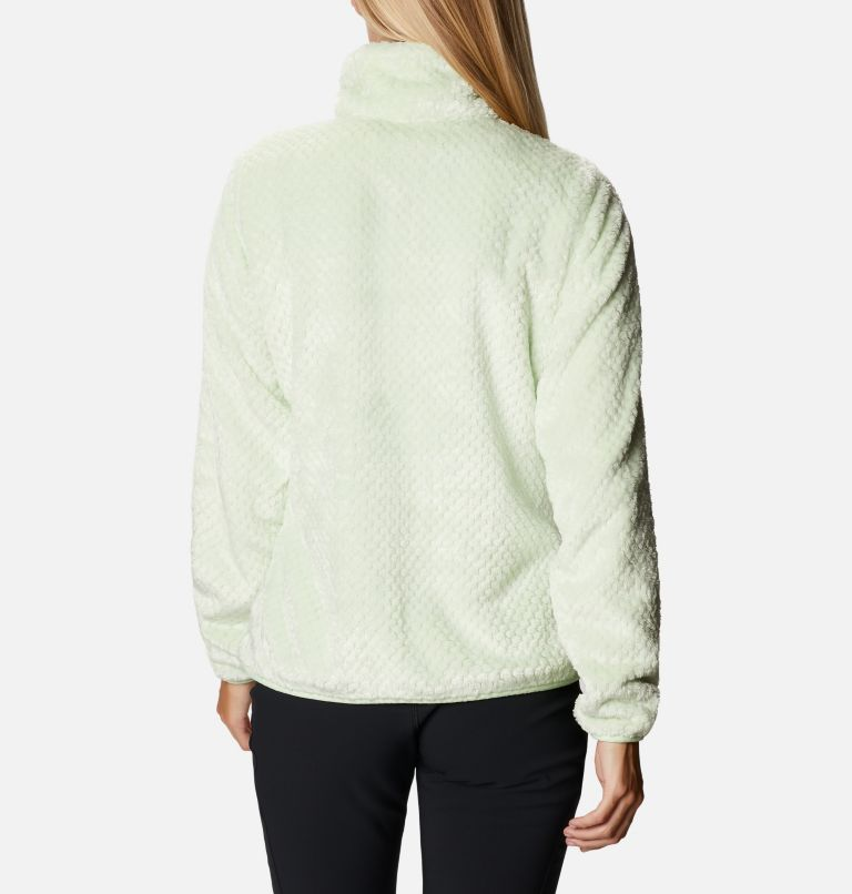 Fire Side™ II Sherpa FZ | 313 | XS Women's Fire Side™ II Sherpa Full Zip Fleece, Light Lime, back