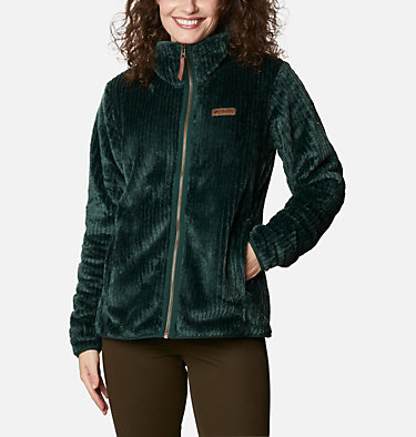 Veste polaire Fire Side femme  Fire Side™ II Sherpa FZ | 370 | L, Spruce Stripe, front