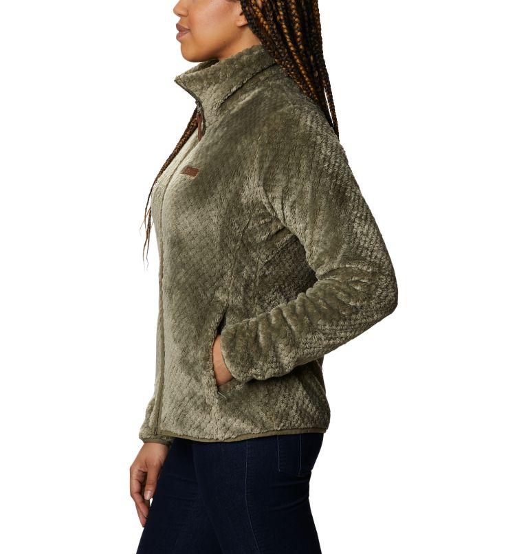 Fire Side™ II Sherpa FZ   397   XXL Women's Fire Side™ II Sherpa Full Zip Fleece, Stone Green, a1