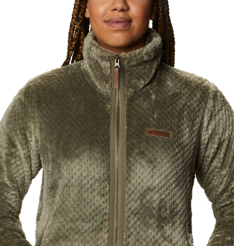 Fire Side™ II Sherpa FZ | 397 | S Women's Fire Side™ II Sherpa Full Zip Fleece, Stone Green, a2