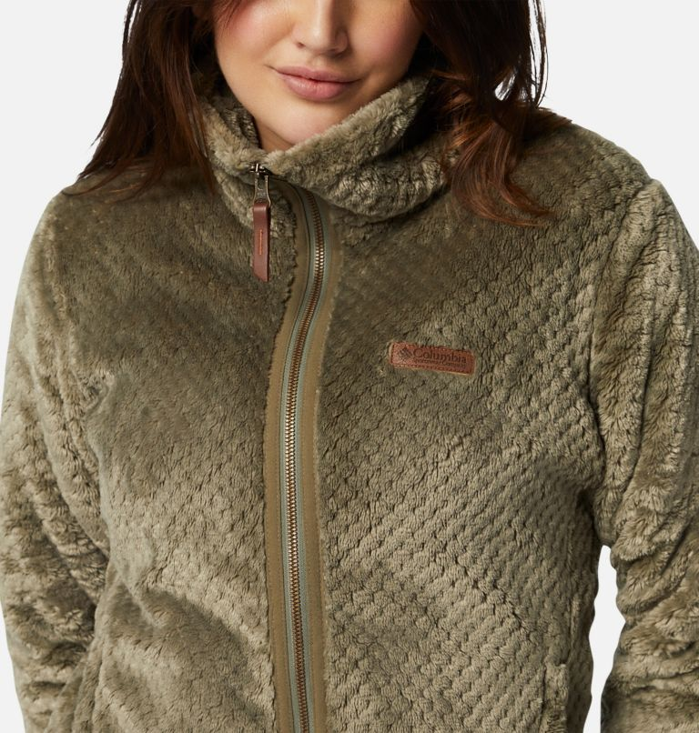Fire Side™ II Sherpa FZ | 397 | M Women's Fire Side™ II Sherpa Full Zip Fleece, Stone Green, a2