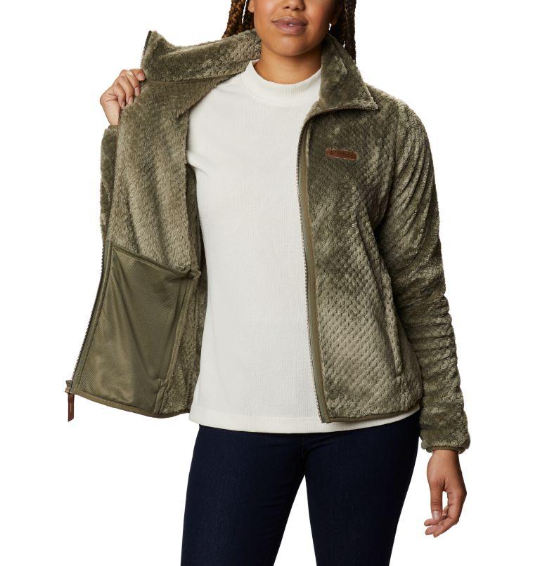 Fire Side™ II Sherpa FZ   397   XXL Women's Fire Side™ II Sherpa Full Zip Fleece, Stone Green, a3