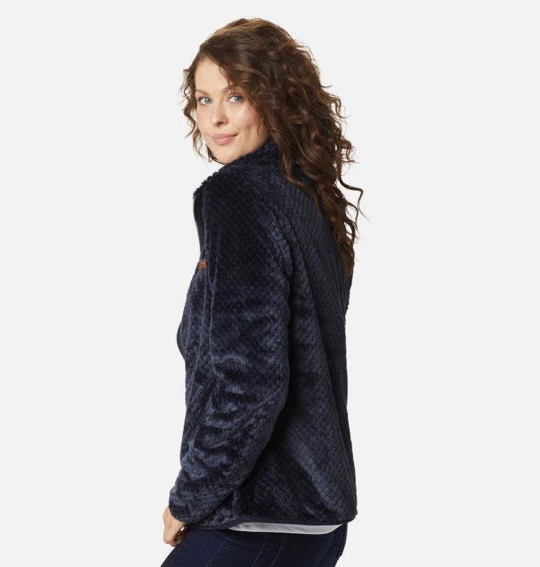 Fire Side™ II Sherpa FZ | 472 | XL Women's Fire Side™ II Sherpa Full Zip Fleece, Dark Nocturnal, a1