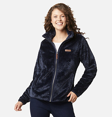Women's Fire Side™ II Sherpa Full Zip Fleece Fire Side™ II Sherpa FZ | 671 | L, Dark Nocturnal, front