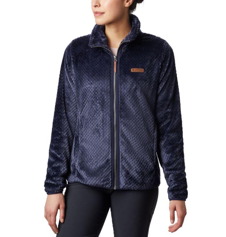 Fire Side™ II Sherpa FZ | 472 | XS Women's Fire Side™ II Sherpa Full Zip Fleece, Dark Nocturnal, front
