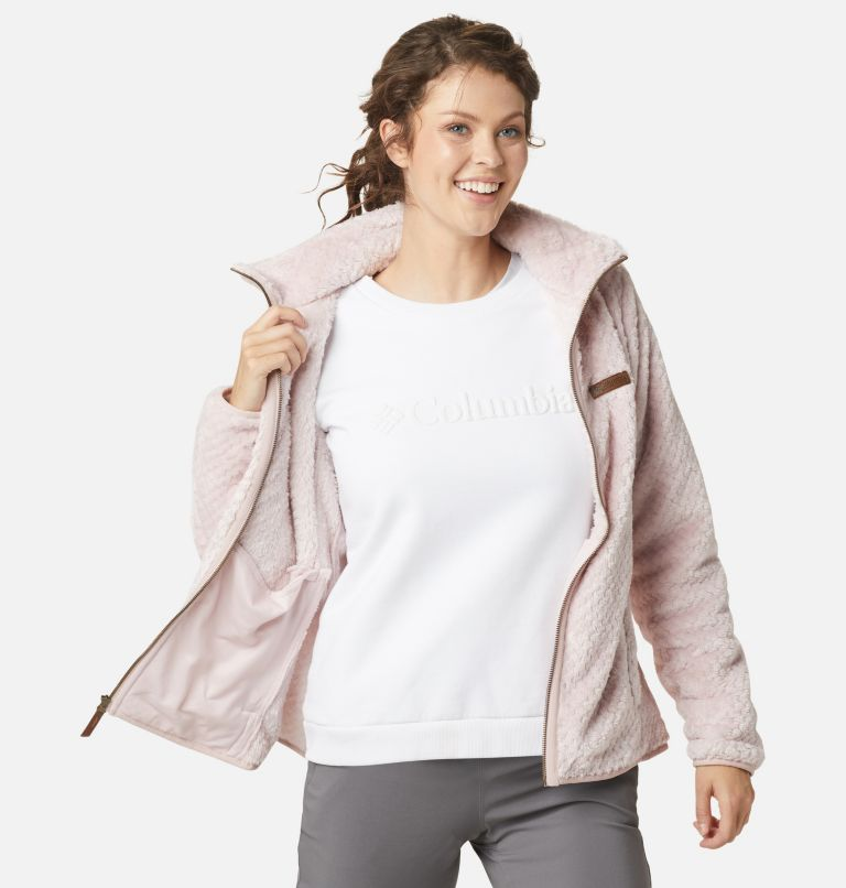 Fire Side™ II Sherpa FZ | 618 | M Women's Fire Side™ II Sherpa Full Zip Fleece, Mineral Pink, a3