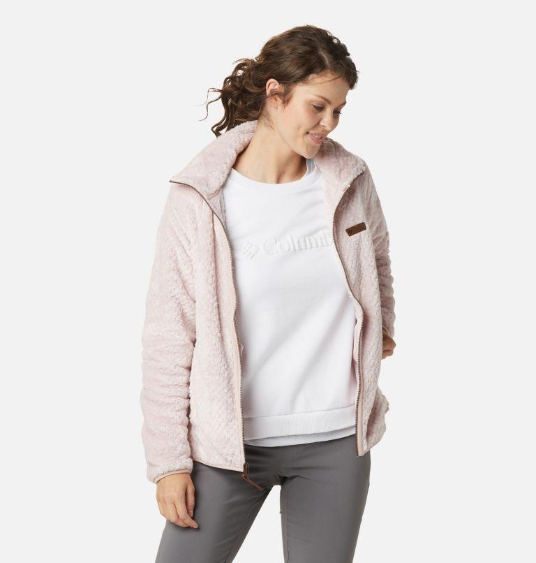 Fire Side™ II Sherpa FZ   618   XS Women's Fire Side™ II Sherpa Full Zip Fleece, Mineral Pink, a4