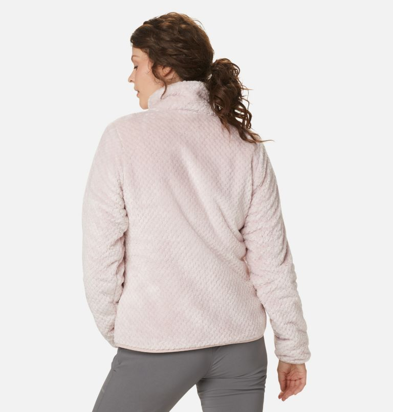 Fire Side™ II Sherpa FZ | 618 | M Women's Fire Side™ II Sherpa Full Zip Fleece, Mineral Pink, back