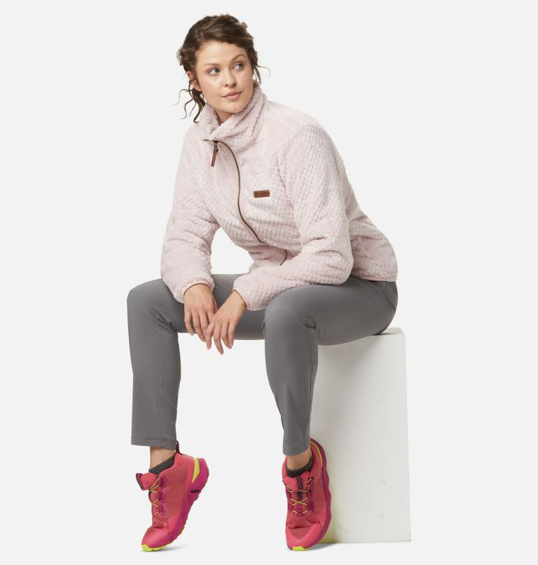 Fire Side™ II Sherpa FZ | 618 | M Women's Fire Side™ II Sherpa Full Zip Fleece, Mineral Pink, front