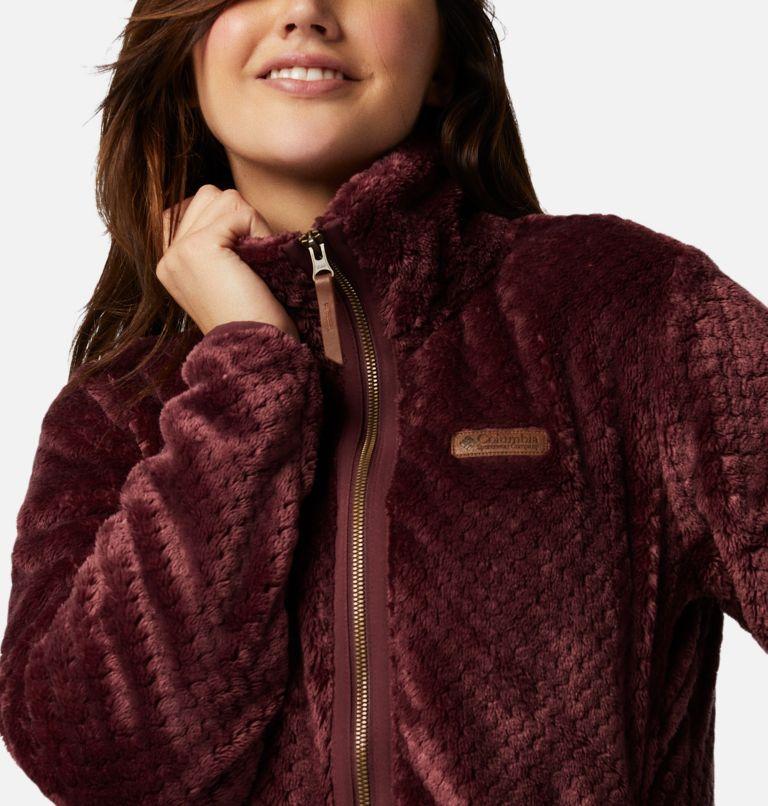 Fire Side™ II Sherpa FZ | 671 | XS Women's Fire Side™ II Sherpa Full Zip Fleece, Malbec, a2