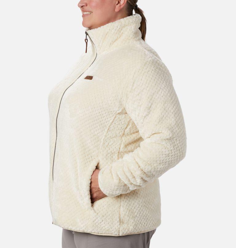 Fire Side™ II Sherpa FZ | 191 | 1X Women's Fire Side™ II Plush Full Zip Fleece - Plus Size, Chalk, a1