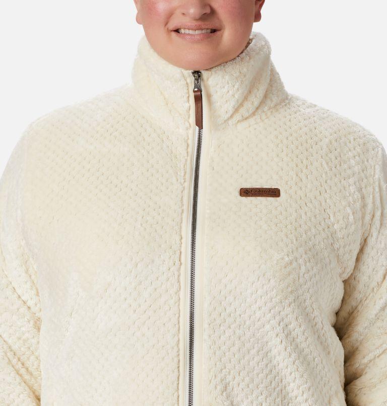 Fire Side™ II Sherpa FZ | 191 | 1X Women's Fire Side™ II Plush Full Zip Fleece - Plus Size, Chalk, a2