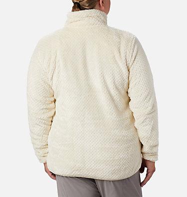 Women's Fire Side™ II Plush Full Zip Fleece - Plus Size Fire Side™ II Sherpa FZ | 618 | 1X, Chalk, back
