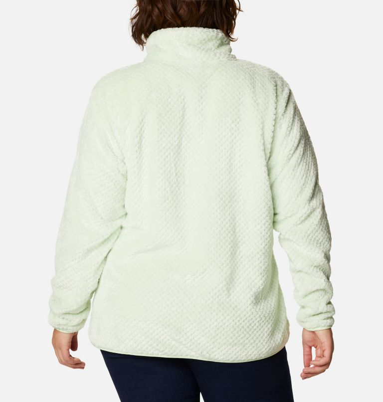 Women's Fire Side™ II Plush Full Zip Fleece - Plus Size Women's Fire Side™ II Plush Full Zip Fleece - Plus Size, back