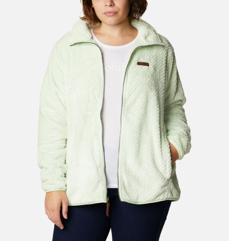 Women's Fire Side™ II Plush Full Zip Fleece - Plus Size Women's Fire Side™ II Plush Full Zip Fleece - Plus Size, front
