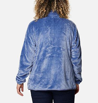 Women's Fire Side™ II Plush Full Zip Fleece - Plus Size Fire Side™ II Sherpa FZ | 459 | 1X, Velvet Cove, back