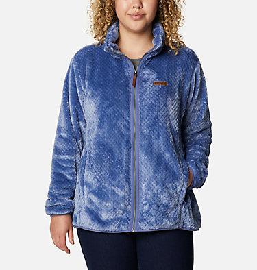 Women's Fire Side™ II Plush Full Zip Fleece - Plus Size Fire Side™ II Sherpa FZ | 459 | 1X, Velvet Cove, front