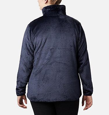 Women's Fire Side™ II Plush Full Zip Fleece - Plus Size Fire Side™ II Sherpa FZ | 618 | 1X, Dark Nocturnal, back