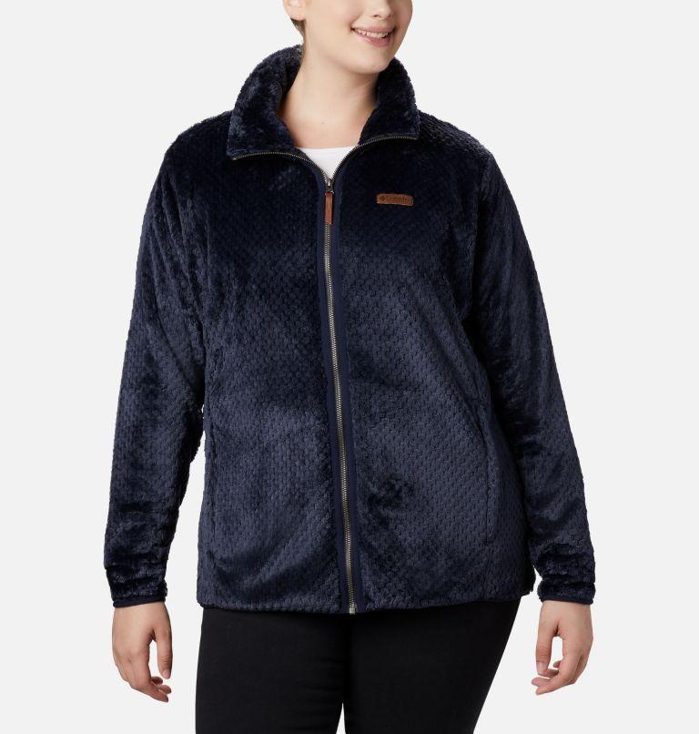 Women's Fire Side™ II Plush Full Zip Fleece - Plus Size Women's Fire Side™ II Plush Full Zip Fleece - Plus Size, front