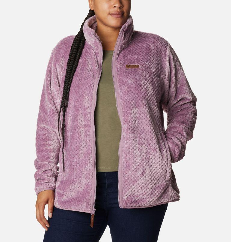 Women's Fire Side™ II Plush Full Zip Fleece - Plus Size Women's Fire Side™ II Plush Full Zip Fleece - Plus Size, a4