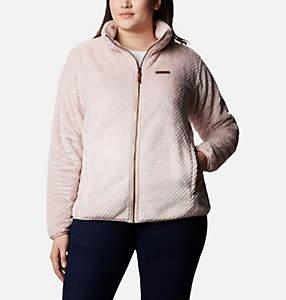 Women's Fire Side™ II Plush Full Zip Fleece - Plus Size