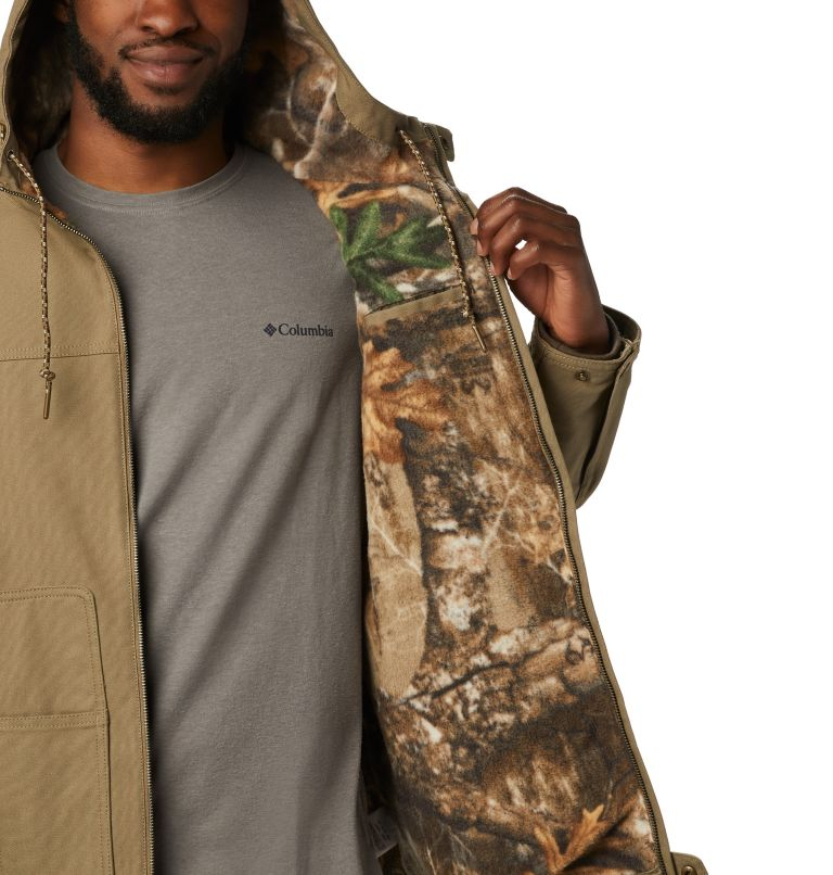 Roughtail™ Work Hooded Jacket | 250 | L Men's PHG Rough Tail™ Work Hooded Jacket, Flax, a1