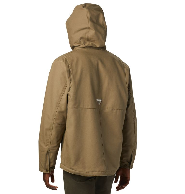 Roughtail™ Work Hooded Jacket | 250 | L Men's PHG Rough Tail™ Work Hooded Jacket, Flax, back
