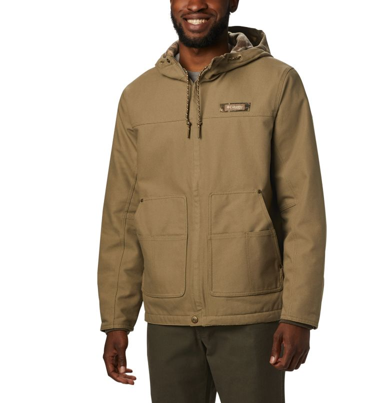 Roughtail™ Work Hooded Jacket | 250 | L Men's PHG Rough Tail™ Work Hooded Jacket, Flax, front